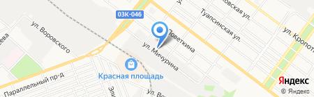 АРМО на карте Армавира