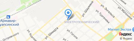 CITI BIKES на карте Армавира