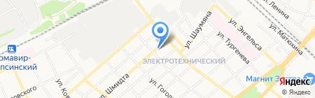 ЕВВА на карте Армавира