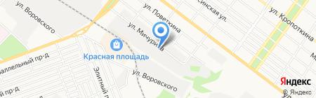 АРМАВИРКООПТОРГ на карте Армавира