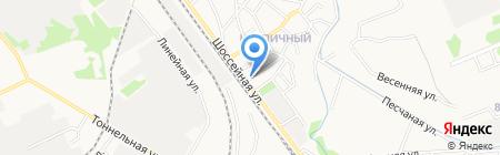 Продуктовый магазин на Шоссейной на карте Армавира
