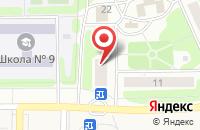 Схема проезда до компании Почтовое отделение №42 в Иваново