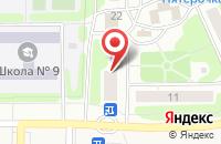Схема проезда до компании Натали в Иваново