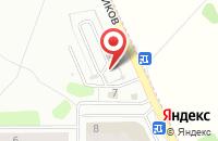 Схема проезда до компании Техлайн в Иваново