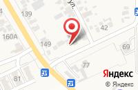 Схема проезда до компании Станция шиномонтажа в Красной Поляне