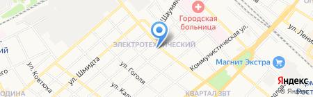 Унистрой на карте Армавира