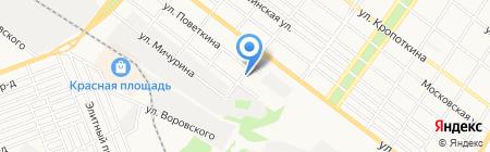 Навигатор на карте Армавира