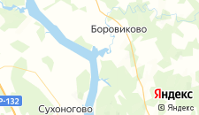 Гостиницы города Молодежный на карте
