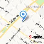 Центральная городская библиотека им. Н.К. Крупской на карте Армавира