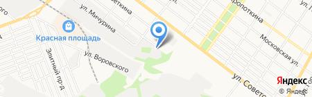 Южгазстрой на карте Армавира