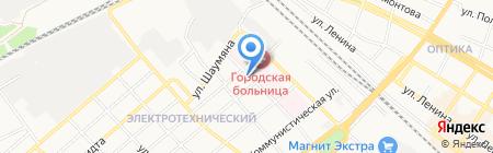 Автоэкспертиза на карте Армавира