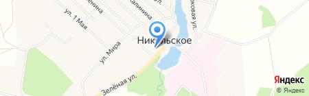 Администрация Никольского сельского поселения на карте Губачёво