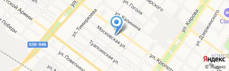 СЭМ на карте Армавира