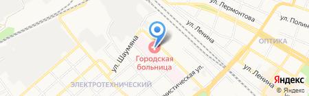 Городская многопрофильная больница на карте Армавира