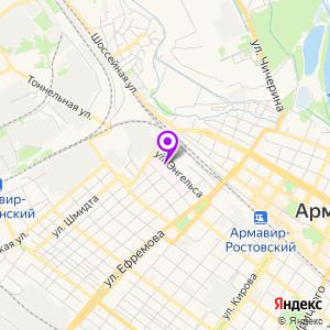 Городская многопрофильная больница на карте
