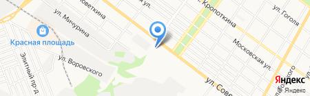 Шины & Диски на карте Армавира