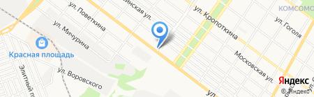 R+ на карте Армавира