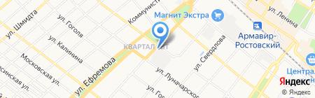 Банкомат БАНК УРАЛСИБ на карте Армавира