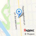 Средняя общеобразовательная школа №5 им. Т.П. Леута на карте Армавира