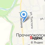 Центральная районная больница Новокубанского района на карте Армавира