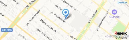 Альянс-Русский текстиль Армавир на карте Армавира