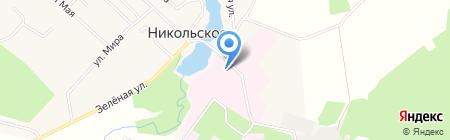 Костромская областная психиатрическая больница на карте Губачёво