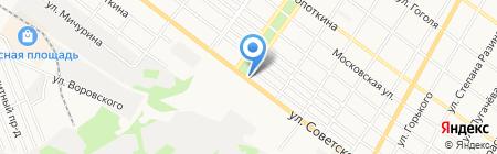 Белорусские колбасы на карте Армавира