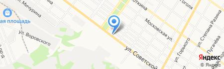 Галерея недвижимости на карте Армавира