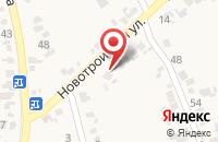 Схема проезда до компании Натали в Прочноокопской