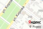 Схема проезда до компании Новые Окна Плюс в Армавире