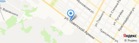 АРАРАТ на карте Армавира