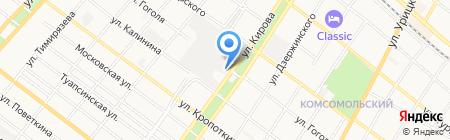 Армавирский масложиркомбинат на карте Армавира