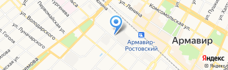 Автомаркет на карте Армавира