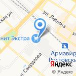 Банкомат на карте Армавира