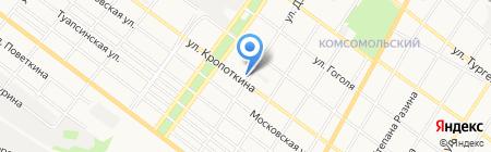 Автогараж на карте Армавира