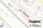 Схема проезда до компании РЖД в Армавире
