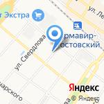Армавир-Кубань БДД на карте Армавира