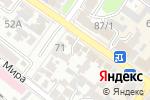 Схема проезда до компании Автошкола в Армавире