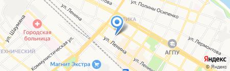 Изолятор временного содержания на карте Армавира