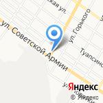 Продуктовый магазин №4 на карте Армавира