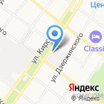 Армавирский опытный машиностроительный завод на карте Армавира