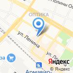Дом Саввы Дангулова на карте Армавира
