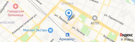 КБ Ростовский Универсальный на карте Армавира