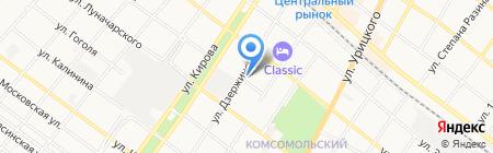 Раки-бар на карте Армавира