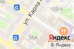 Схема проезда до компании Магазин бижутерии, косметики и парфюмерии в Армавире