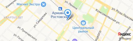 Управление надзорной деятельности Главного Управления МЧС России по Краснодарскому краю на карте Армавира