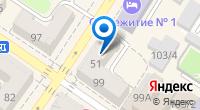 Компания Рукодельница и Мастер на карте