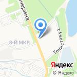 Людмила на карте Армавира