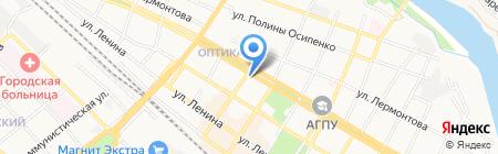 Фабрика потолков на карте Армавира
