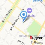 Российский государственный социальный университет на карте Армавира